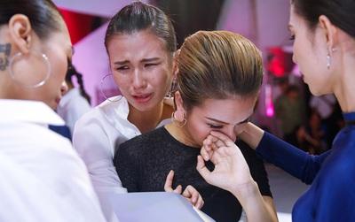 Next Top Model: Team Sang rơi nước mắt và không phục khi Thùy Trâm ra về