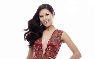 Nguyễn Thị Loan khoe trọn vóc dáng nóng bỏng trong trang phục dạ hội xuyên thấu tại Miss Universe