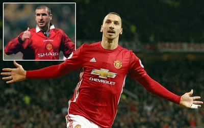 """""""Xin lỗi Cantona, nhưng Ibrahimovic là vua mới của Man Utd"""""""