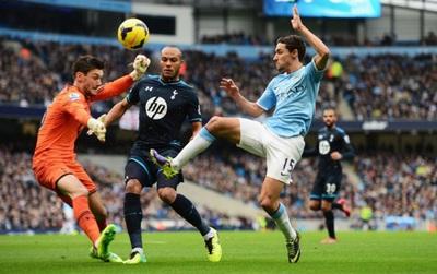 TRỰC TIẾP Man City - Tottenham: Đại chiến tốp 4
