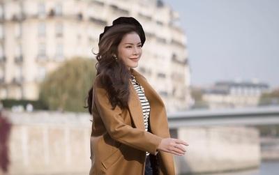 Lý Nhã Kỳ xinh đẹp nổi bật với phong cách cổ điển trên đường phố Paris