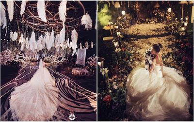 """Hot girl mạng xã hội Trung Quốc méo mặt vì không """"chị em cây khế"""" nào chịu đi dự đám cưới hoành tráng của mình"""