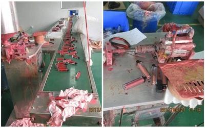 Đột nhập công xưởng sản xuất mỹ phẩm nhái tại Trung Quốc