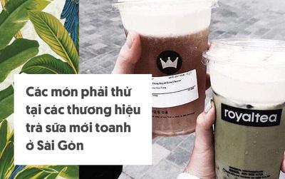"""Sài Gòn: Cẩm nang gọi món để bạn không sợ """"lạc lối"""" khi ghé thăm các thương hiệu trà sữa mới mở"""