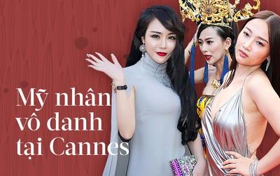 """Tổng kết Cannes 2017: Nhiều mỹ nhân vô danh Cbiz ăn mặc phản cảm, """"bon chen"""" từ đầu đến cuối sự kiện!"""