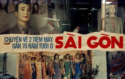 """""""Cậu Ba, Cô Ba Sài Gòn"""" ngoài đời thực và câu chuyện thăng trầm hơn nửa thế kỷ bên bàn may"""