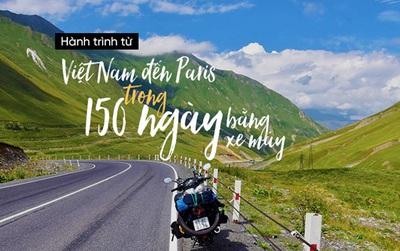 Trần Đặng Đăng Khoa và hành trình đi quanh thế giới: Paris mới chỉ là trạm dừng đầu tiên!