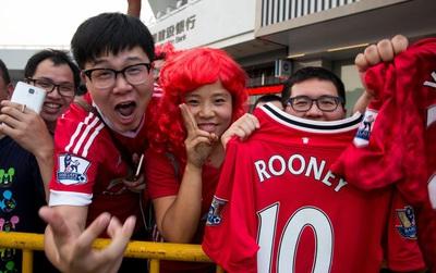 """Man Utd """"vô đối"""" ở Trung Quốc"""