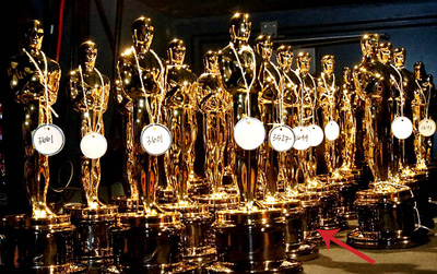 """Tượng vàng Oscar của ai cũng giống nhau và đây mới là """"chi tiết"""" đắt giá nhất"""
