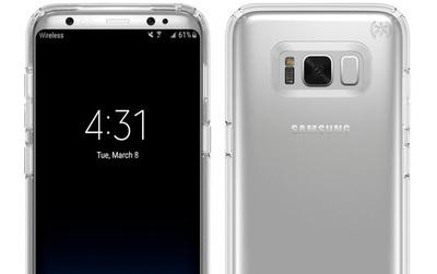 Galaxy S8 và LG G6 cùng lộ diện hoàn toàn trong một bức ảnh đẹp lung linh