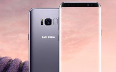 Galaxy S8 lộ diện với màu vàng, tím và đen đẹp không thể tin nổi