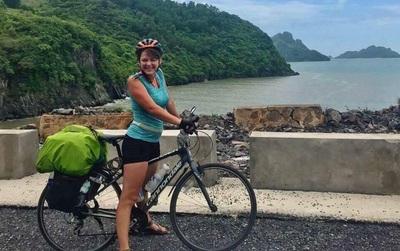 Công an vào cuộc truy tìm kẻ trộm xe đạp của nữ du khách nước ngoài đi xuyên Việt