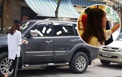 """Mẹ của cô gái dán băng vệ sinh lên xe ô tô ở Hà Nội: """"Hành động của con gái tôi là thiếu tế nhị, gây phản cảm"""""""