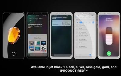 Mãn nhãn với bộ ảnh iPhone 8 mang màu sắc hoàn toàn mới