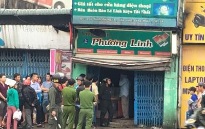 Người phụ nữ chết cháy trong tiệm kinh doanh linh kiện điện thoại lúc rạng sáng