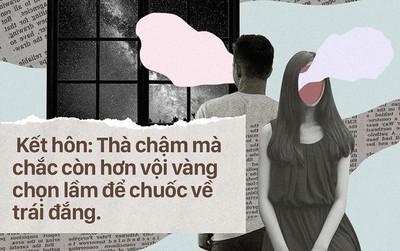 Đừng bao giờ nhắm mắt chọn bừa, kết hôn có thể muộn chứ tuyệt đối không thể lấy nhầm người!