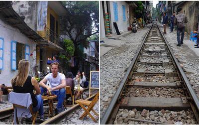 Công an xử phạt, yêu cầu đóng cửa loạt quán cafe nằm giữa đường tàu ở Hà Nội, nhiều khách Tây ra về trong ngỡ ngàng
