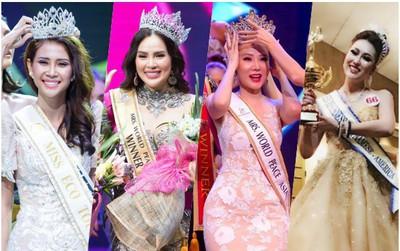 Showbiz Việt lại có thêm 9 Hoa hậu, Á hậu chỉ trong vòng 10 ngày đầu tháng 12!