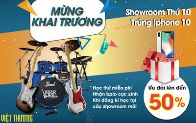 Việt Thương Music đồng loạt khai trương 4 showroom mới tại TP.HCM
