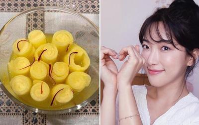 Lotion mask ngâm nhụy hoa nghệ tây: công thức mặt nạ vừa cấp ẩm vừa làm sáng da đang khiến con gái Việt mê mẩn