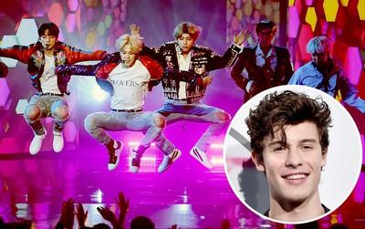 """Shawn Mendes xuýt xoa khen BTS đẹp và biểu diễn """"như phim"""""""