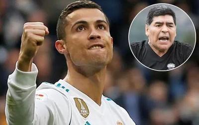 "Maradona: ""Bảo Ronaldo ngừng làm trò hề đi"""