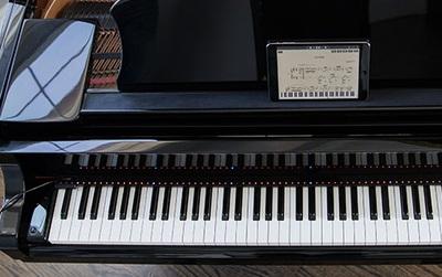Thiết bị phát sáng trên phím giúp bạn trở thành nhạc công piano chính hiệu mà không cần học