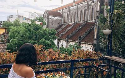 3 quán cafe với góc sân thượng siêu thoáng đãng để tận hưởng Hà Nội lúc thu về