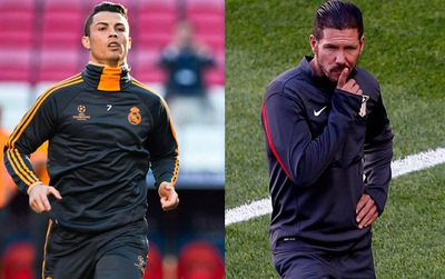 HLV Diego Simeone không phục tài năng của Ronaldo