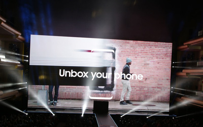"[Trực tiếp] Samsung ra mắt ""bom tấn"" Samsung Galaxy S8"