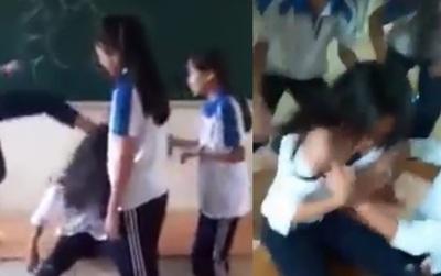 Hà Nội: Đình chỉ học 6 nữ sinh đánh hội đồng, lột áo nữ sinh cùng trường
