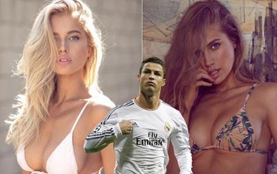 Siêu mẫu Nga nóng bỏng muốn... lên giường với Ronaldo