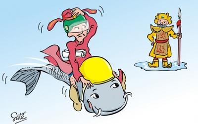 """Liệu cá chép có phải là """"siêu xe"""" duy nhất đưa ông Táo lên chầu Trời?"""