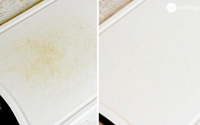 Biến hoá thớt nhựa trầy xước xấu xí trở nên trắng sáng như mới chưa đầy một phút