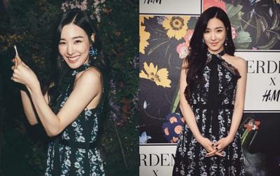 Rời SM, Tiffany đã trở về quê nhà Mỹ và kịp lộng lẫy dự sự kiện lớn: Còn SNSD thì sao?