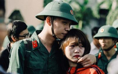 Nước mắt, nụ cười và những khoảnh khắc xúc động ngày tân binh ở Sài Gòn lên đường nhập ngũ