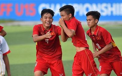 Video xem trực tiếp chung kết U15 Việt Nam - U15 Thái Lan