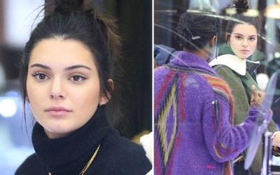 """Kendall Jenner xinh như thiên thần đi mua sắm cùng """"bạn trai tin đồn"""""""