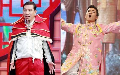 """Quang Thắng hóa Doctor Strange, Duy Nam mặc đồ """"cô Đẩu"""" tại """"Táo quân""""?"""