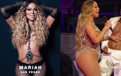 Photoshop lộ liễu làm mất bụng to đùi mỡ, Mariah Carey bị cư dân mạng chê cười