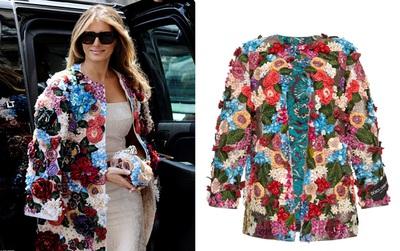 Không hổ danh Đệ nhất phu nhân nước Mỹ, bà Melania Trump lại diện áo khoác hơn 1,1 tỷ đồng