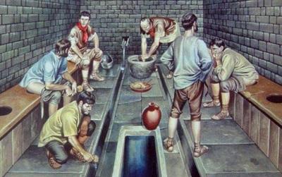 Chuyện đi vệ sinh của thời La Mã cổ đại: có nhiều chi tiết thú vị mà chúng ta không hề biết