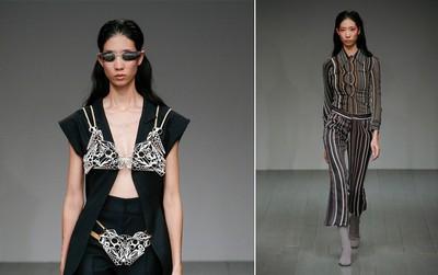 Trang Phạm lại trúng show tại London Fashion Week, hình ảnh được đăng trên Vogue chất lừ
