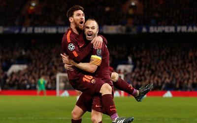 9 trận đấu, 729 phút tịt ngòi, cuối cùng Messi cũng ghi bàn vào lưới Chelsea