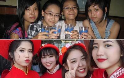 4 cô bạn thân khoe ảnh dậy thì thành công: Đừng bao giờ coi thường em gái hàng xóm!