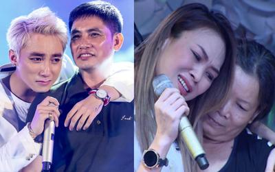 Những khoảnh khắc sao Việt không giấu được cảm xúc, bật khóc khi hát trên sân khấu