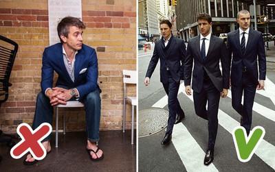 Đàn ông nên né 10 lỗi ăn mặc này để trông lúc nào cũng lịch lãm