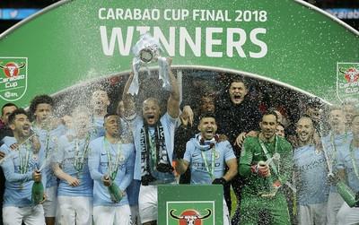 Man City vô địch Cúp Liên đoàn khi hạ Arsenal ở chung kết