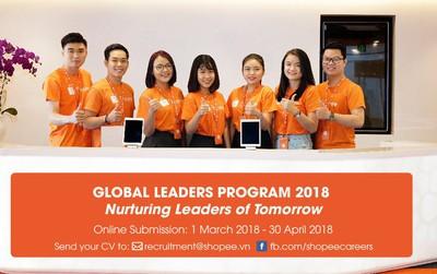 Ơn giời, Shopee đã ra mắt chương trình Global Leaders Program rồi!