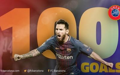 Những thống kê khủng khiếp của Messi sau khi ghi bàn thắng thứ 100
